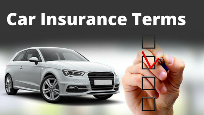 Car Insurance Coverage Definitions